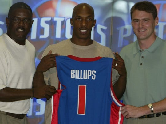 Look how young Joe Dumars and, especially, Rick Carlisle were back when Chauncey Billups signed in 2002!