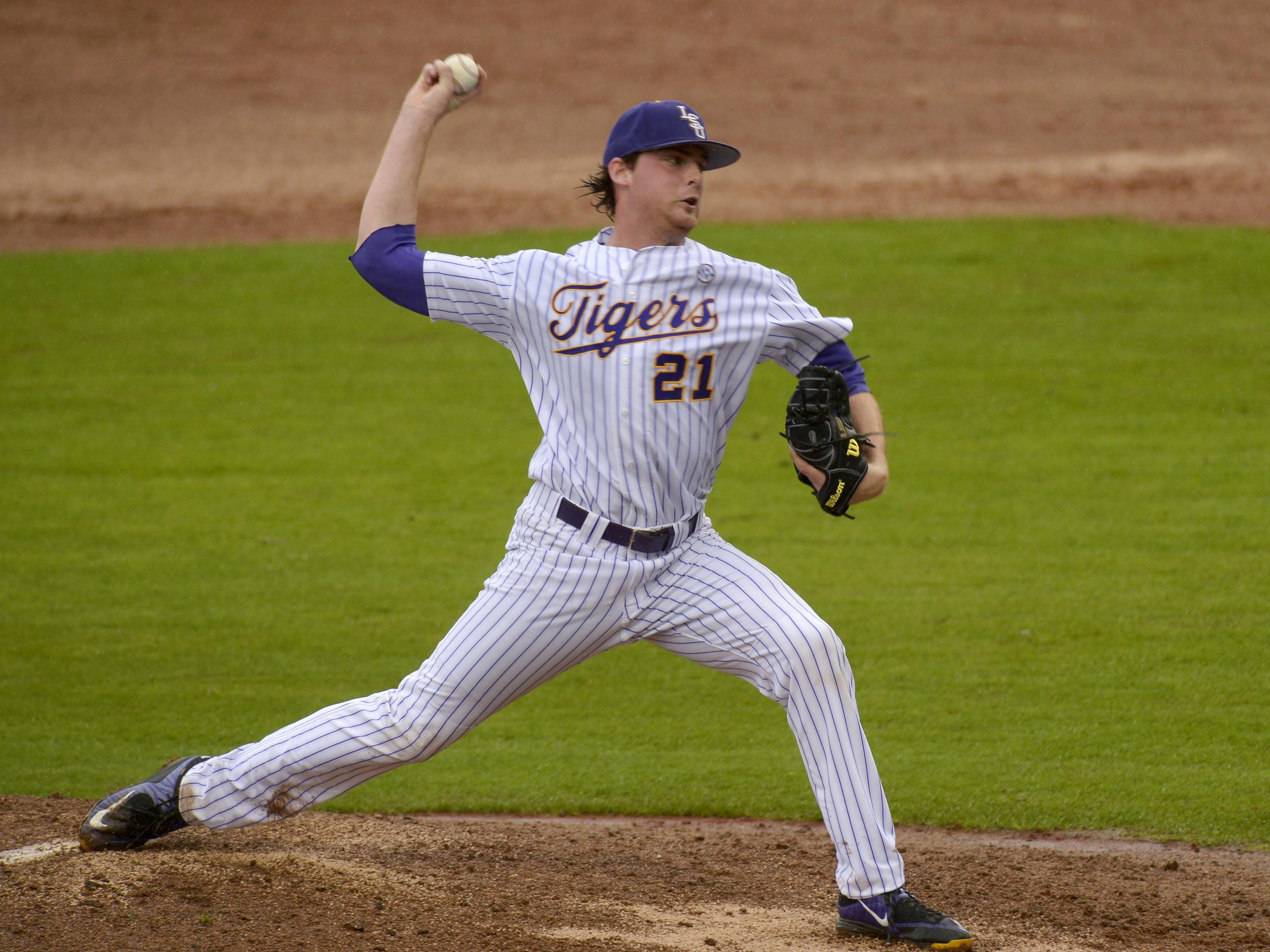 The Cincinnati Reds drafted LSU pitcher Doug Norman on Wednesday.