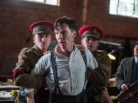"""Benedict Cumberbatch appears in a scene from """"The Imitation Game."""" Cumberbatch was nominated for an Oscar Award for best actor for the role."""