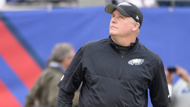 Eagles coach Chip Kelly continues to keep things interesting after Tuesday's trade for Sam Bradford.