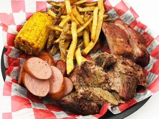Watching your budget? Get a combo plate and share.