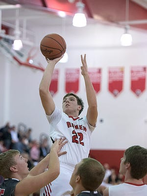Bucyrus' Gavin Lewis, averaging 6.6 rebounds per game, will need to dominate the glass against Upper Sandusky.
