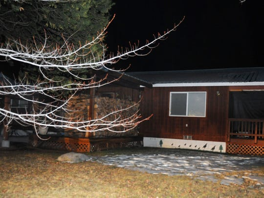 Alan Frazier's home in Lake Almanor, Calif., about 130 miles northwest of Reno.
