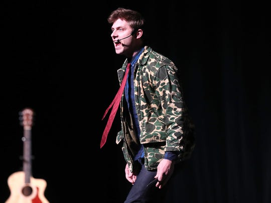 Charlie Berens brought his Manitowoc Minute to the Weidner Center for the Performing Arts at UW-Green Bay Tuesday, March 6, 2018 in Green Bay, Wis.