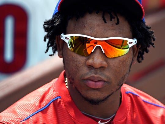 After missing much of September, Maikel Franco could see time at either first or third base.