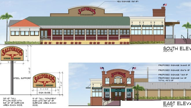 Saltgrass Steak House will replace Landry's Seafood in Pensacola.