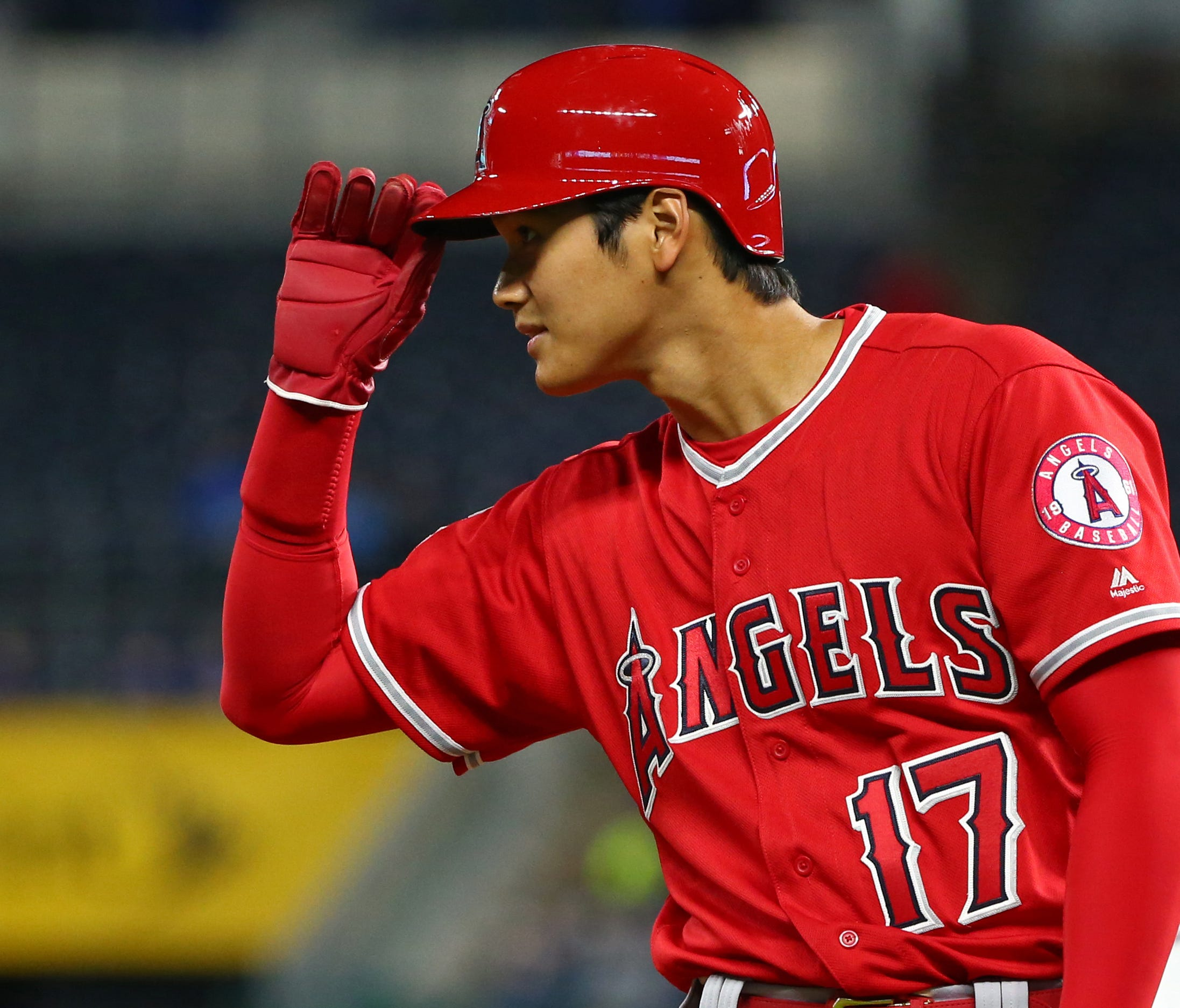 Shohei Ohtani is already drawing throngs of admirers when the Angels hit the road.