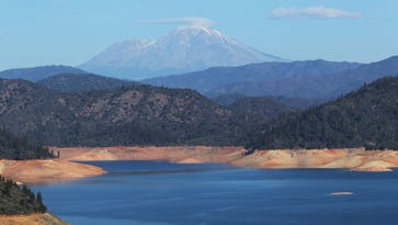An island on California's Lake Shasta was trashed by partying University of Oregon students.