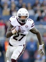 Aeris Williams finished the 2016 season with 720 rushing yards and four touchdowns. He ran for 191 yards and two scores against Ole Miss.