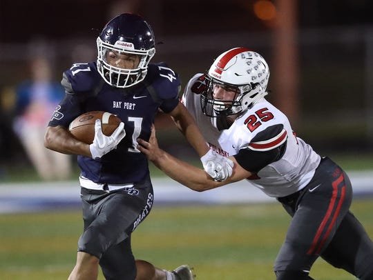 Bay Port running back Isaiah Gash has topped the 200-yard mark in each of the last two games.