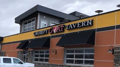 This Grumpy Goat Tavern in Ankney is one of four open in the Des Moines metro.