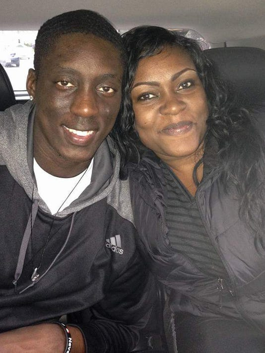 Tony Snell and mom