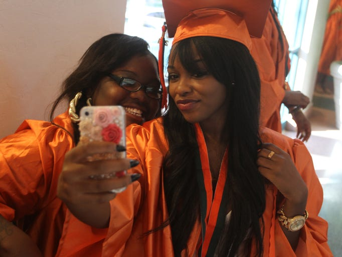 Seniors from Dunbar High School celebrated their commencement with parents, loved ones, friends and fellow classmates at Harborside Event Center in Downtown Fort Myers.