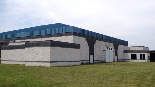 An exterior shot of an abandoned megachurch in Huron Township near I-275 that the Sault Ste. Marie Tribe of Chippewa Indians wants to turn into a casino.