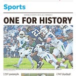 LOOK: PNJ front pages from UWF football's stunning playoff run
