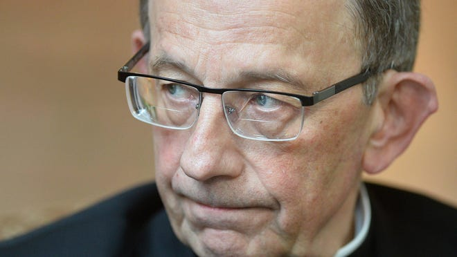 """""""The separation of church and state does not mean that those motivated by their faith have no place in the public square,"""" Erie Catholic Bishop Lawrence Persico said of the $10.3 million diocesan entities have received from the Payroll Protection Program."""