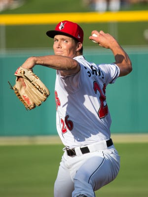 Indianapolis Indians starter Tyler Glasnow struck out nine batters, but the Indians lost 4-0.
