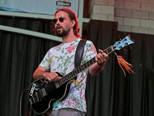 Big Thief performs at Summerfest's Johnson Controls World Sound Stage in July 2019.