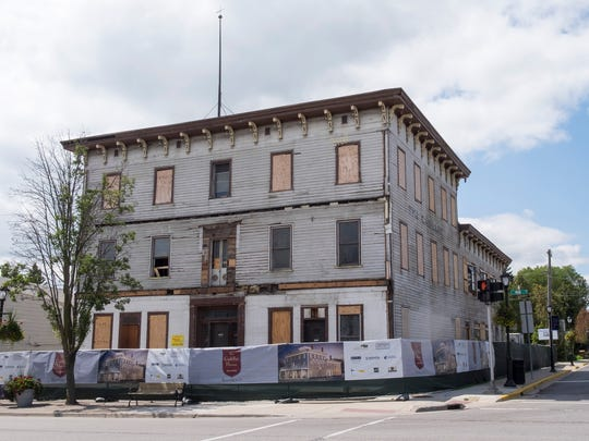 Construction has begun on the Cadillac House in Lexington.