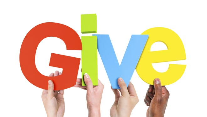 Research shows that giving improves our overall health