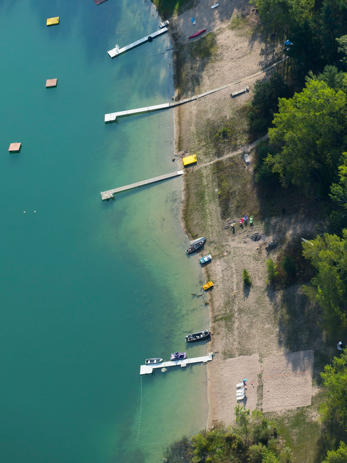Homeowners on Huron Lake in Plainfield have seen the