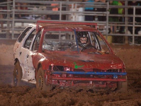 The demolition derby is a Washington County Fair favorite.