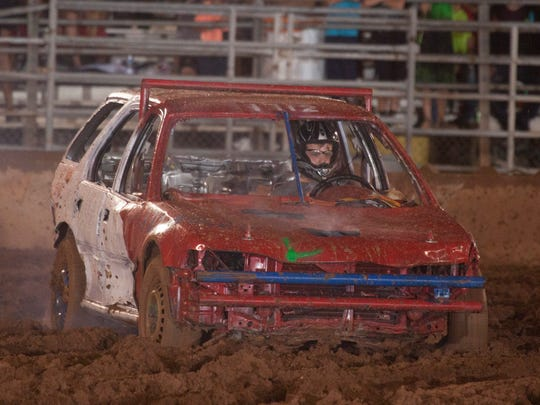 The demolition derby is a Washington County Fair favorite.
