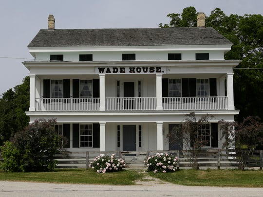 The exterior of the Wade House as seen, Thursday, June 14, 2018, in Greenbush, Wis.