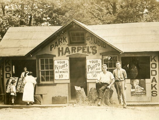 Luther Harpel opened Harpel's Park Studio in Mt. Gretna