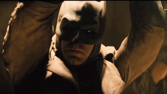 Stare on, Batfleck.