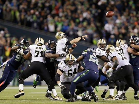 Saints Seahawks Football