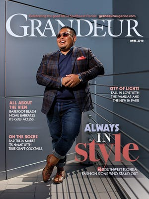The April issue of Grandeur will be available starting April 7. Featured on the cover is Rafael Feliciano of Food Idea Group, Inc.