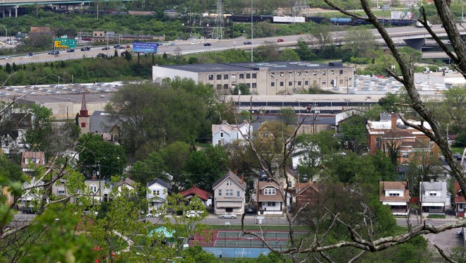 The South Cumminsville neighborhood is tucked away near Interstate 74 and has a population of 801 according to cincinnati-oh.gov.