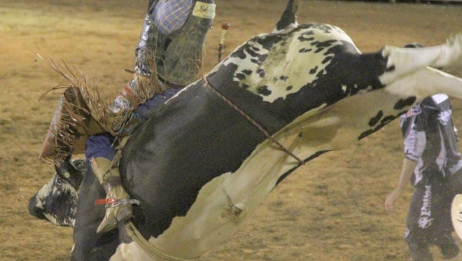 It's all about the bulls during the first day of the Wild, Wild West Pro Rodeo. A lot of bull riding action will take place Wednesday with the action starting at 8 p.m.