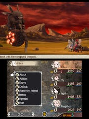 """""""Bravely Default"""" is a turn-based RPG for 3DS."""