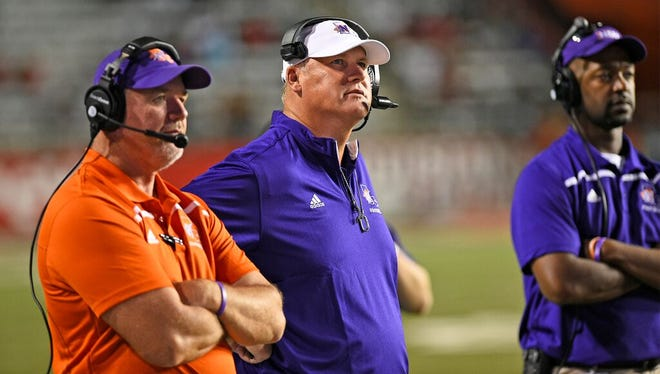 Northwestern State head coach Jay Thomas took less money so his assistants could get more.