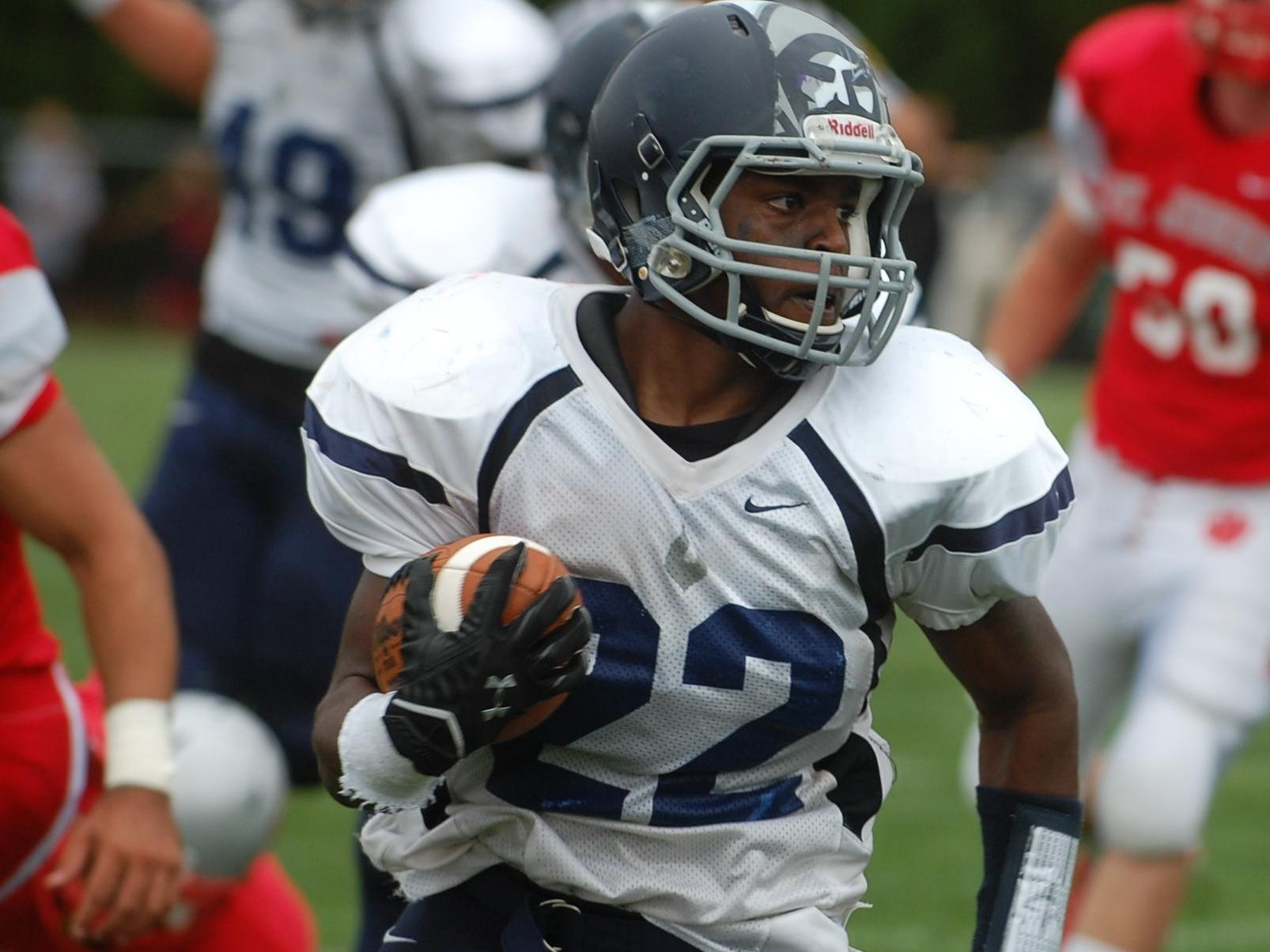 Lamont Harris, a recent St. Augustine Prep grad, will play his college football at Widener University.