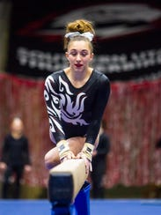 Southern Utah gymnastics holds their Red/White preview
