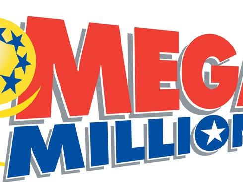 The Mega Millions lotto logo.  Mega Millions is a multi-state lottery game run by a consortium of the following twelve states: Georgia, Illinois, Maryland, Massachusetts, Michigan, New Jersey, New York, Ohio, Texas, Virginia, Washington and Californi