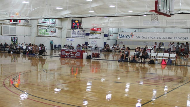The Courts E-Zone hosts the 2016 Mercy Pro-Am League on Wednesday nights in June and July.