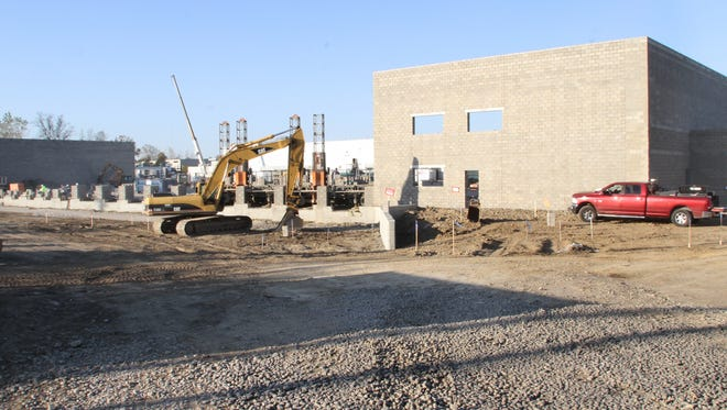 Major expansion continues at the Howell Magna / Atreum site on Grand River Avenue near the Spencer J. Hardy Airport.
