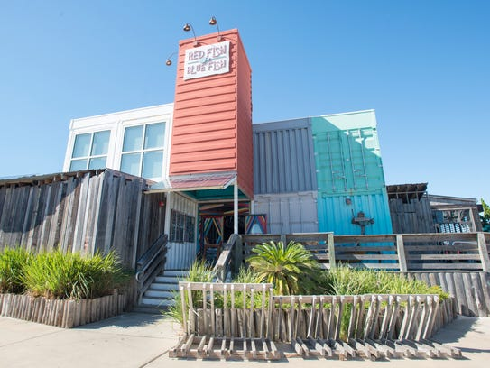 Pensacola beach restaurants urged to recycle oyster shells for Red fish blue fish pensacola