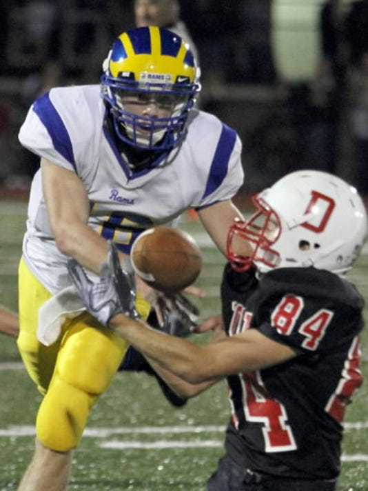 Kennard-Dale rising senior Dan Hare (left) was named a Class AAA third-team all-state pick last season by the Pennsylvania Football News.