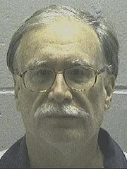 This undated photo provided by the Georgia Department of Corrections on Wednesday shows death row inmate Gregory Paul Lawler. Convicted of killing Atlanta Police Officer John Sowa in 1997, he is scheduled to be executed Oct. 19, 2016, according to Attorney General Sam Olens.