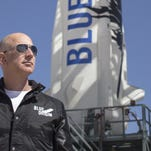 Blue Origin's New Shepard launched in November. The rocket successful re-launched and landed in Texas on Jan. 22.