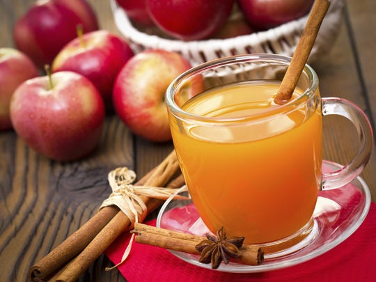 Apple cider mimosas are a bubbly twist on a fall classic.