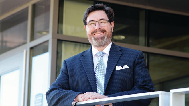 Mark Newcomb, executive vice president at Mount Saint Mary College in Newburgh, announced his resignation effective on April 18.
