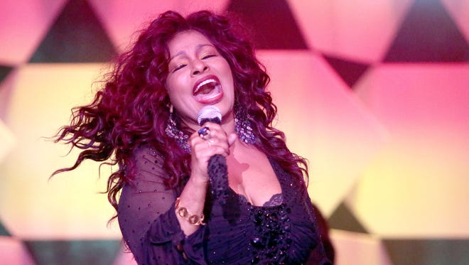 Singer songwriter Chaka Khan performs at the Steve Chase Humanitarian Awards on Saturday, February 6, 2016 at the Palm Springs Convention Center.