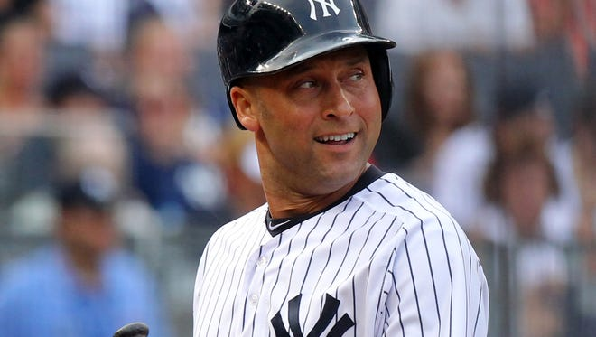 Yankees shortstop Derek Jeter, who turns 40 in June, played in only 17 games because of complications in his recovery from an October fractured ankle.