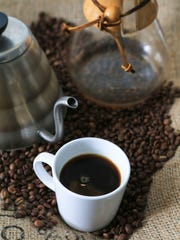 Brewing a great cup of coffee at home requires maybe a little more work but the results are worth it. It includes a Chemex brewing glass, a pouring kettle with hot water ranging from 200 to 210 degrees and some quality, freshly ground coffee beans like Louisville's Good Folks Coffee Company carry.